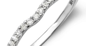 0.25 Carat (ctw) 14K White Gold Round White Diamond Anniversary Wedding Ring Matching Band 1/4 CT