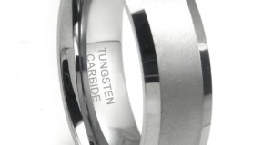 8MM Tungsten Carbide Men's Wedding Band Ring in Comfort Fit and Matte Finish Size 7-16