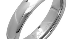 5mm Mens Plain Comfort Fit Tungsten Wedding Band ( Available Ring Sizes 7-12)