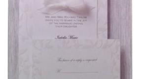 25 Ct Wilton Wedding Invitation Kit Pearlized Garden