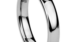 4MM Tungsten Carbide Comfort Fit Wedding Band Ring High Polished Classy Domed Ring ( Size 5 to 11)