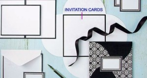 Black & White Wedding Invitation Kit