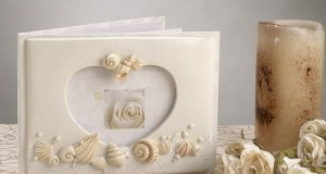 Beach Theme Wedding Guest Book C410 Quantity of 1