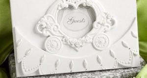 Fairytale Wedding Guest Book: Royal Coach, 1