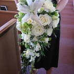 Amazing White Wedding Bouquet