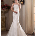 Mermaid Strapless Wedding Dress